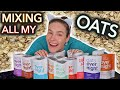 Mixing All My Overnight Oats + MY OWN Flavour!!