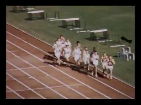 MELBOURNE 1956 5000m (Vladimir Kuts) Amateur Footage