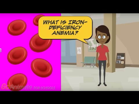 What is iron deficiency anemia?