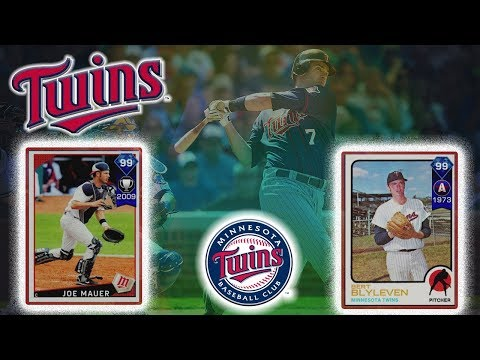 99 Joe Mauer Debut - Minnesota Twins All Time Build (SBC) |MLB 17 Diamond Dynasty|