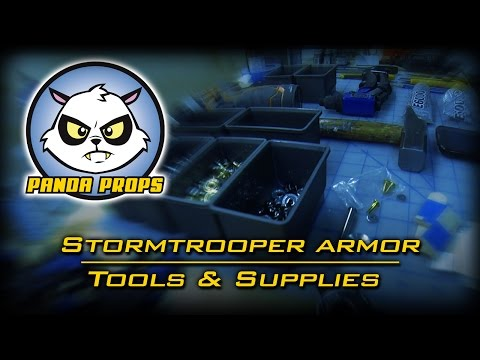 Building a Stormtrooper: Tools and supplies