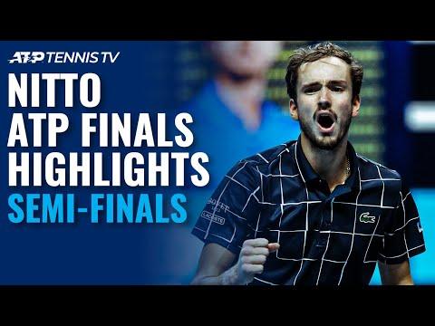 Djokovic v Thiem; Nadal v Medvedev   Nitto ATP Finals 2020 Semi-Final Highlights!