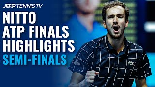 Djokovic v Thiem; Nadal v Medvedev | Nitto ATP Finals 2020 Semi-Final Highlights!