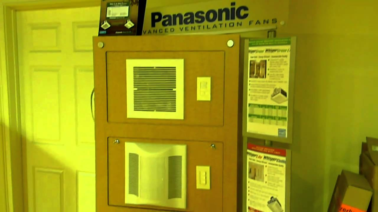 panasonic whisper bath fans in atlanta - youtube