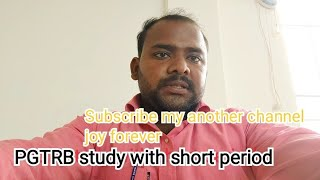 pgtrb study to step by step easy way