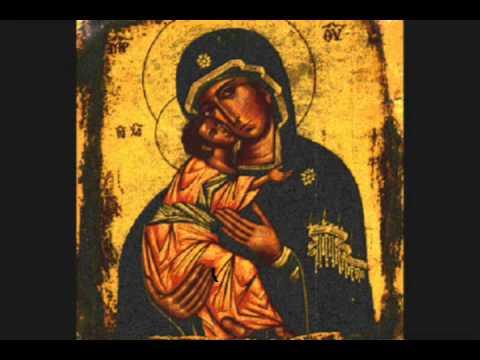 Nikolaos Sarlakis - Theotoke Parthene (Theotoke and ever virgin )