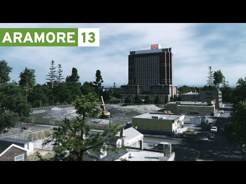 Cities Skylines: Aramore (Episode 13) - Shopping, High School Sports, Children's Hospital