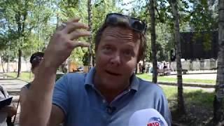 Съемки телешоу «Поедем, поедим!» и Джон Уоррен в Липецке