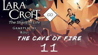 Lara Croft GO: The Shard of Life - The Cave of Fire #11 - Core of the Mountain