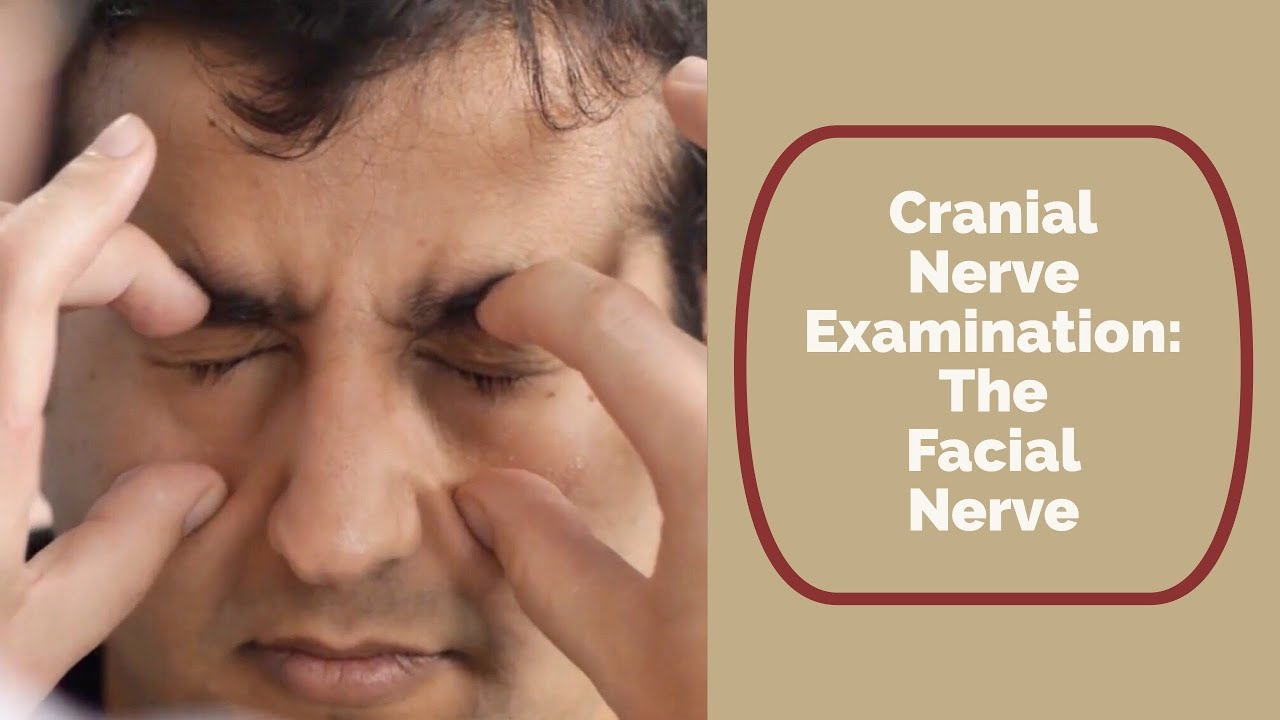 What are the symptoms of the neuritis of the facial nerve