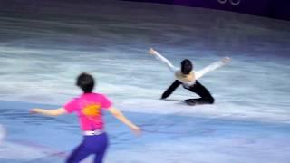 PyeongChang Olympic  GALA Finale Yuzuru Hanyu