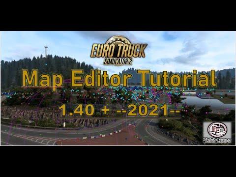 (Ger + engl subs) ETS2 1.18 Mapping Tutorial Teil 1: Grundlagen und erste Schritte