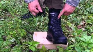 Mountain Boot tie Tip Haix boots