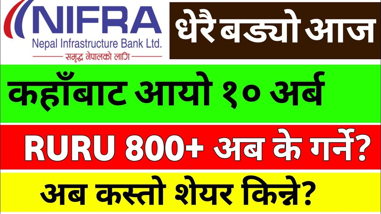 NIFRA सङ्गै बड्याे Nepse 10 अर्ब बडी रकम कहाँबाट अायाे हेर्नुस् | share market in nepal