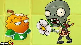 Plants vs Zombies 2 - Lost City Part 1 Endurain ALL PLANTS NEW COSTUME Powerup(China Version)!