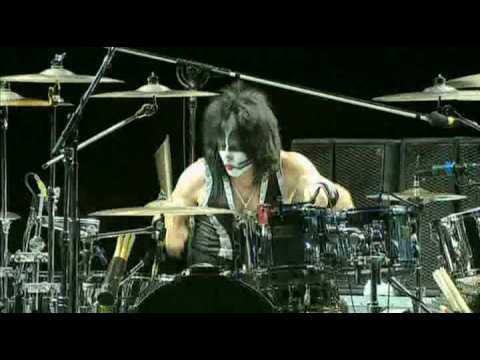 KISS - She  Tommy Thayer Guitar Solo - Rock The Nation Tour - original Sound