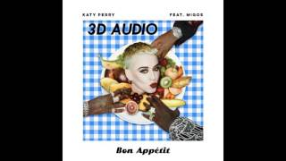 [3D AUDIO] Bon Appetit - Katy Perry (USE HEADPHONES!!!) Download Audio!