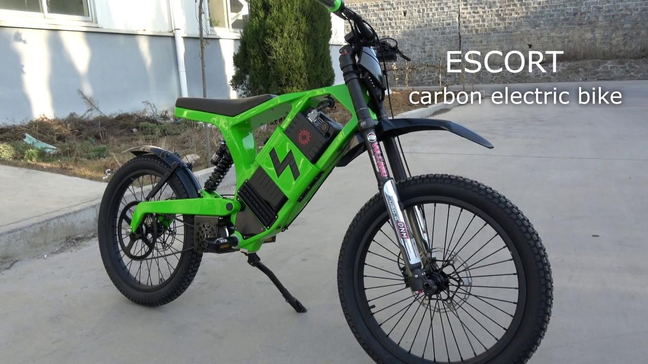 carbon electric bike escort youtube. Black Bedroom Furniture Sets. Home Design Ideas