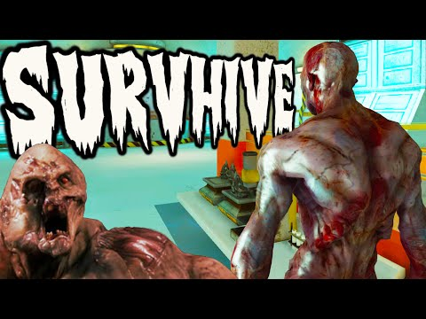 SurvHive - SNEAK INFECT YOUR TEAM AS AN ALIEN (EPIC GAME)