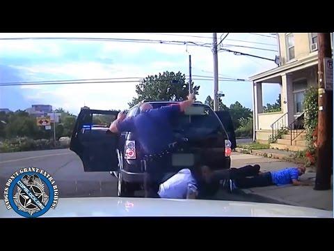 Allentown Cop Kicks Compliant Suspect in the Face - Dashcam