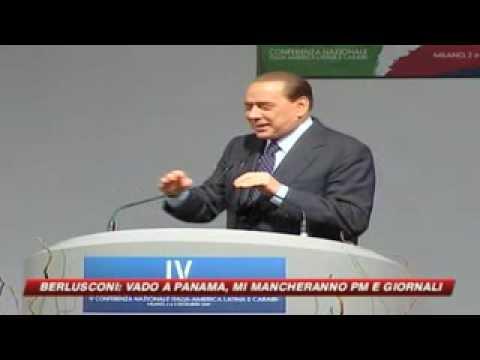 "Berlusconi ""vado a Panama per affari"""