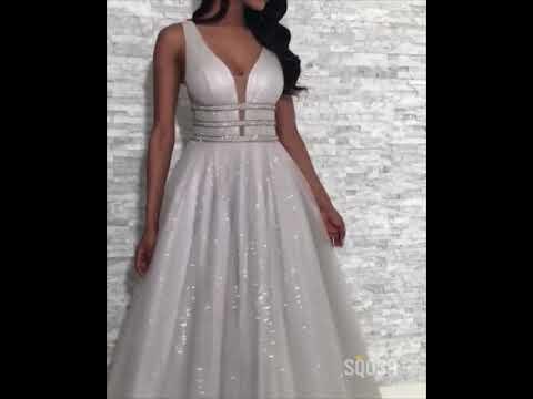 prom-dresses-qp0886┃a-line-silver-sequined-v-neck-sparkly-prom-dress-sexy-party-dress-━-sqosa
