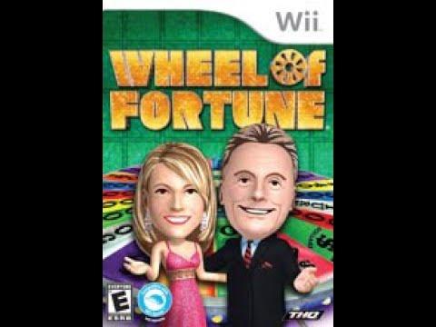 Nintendo Wii Wheel of Fortune ORIGINAL RUN Game #17