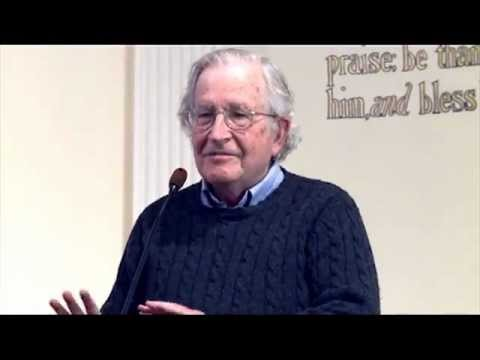 """November 2012"" Noam Chomsky- Media, Objectivity and Reality of US Foreign Policy in the Middle East"