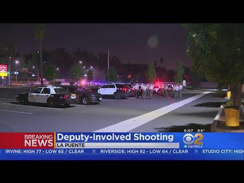 Deputies Open Fire On Man Shooting At People In La Puente  Park