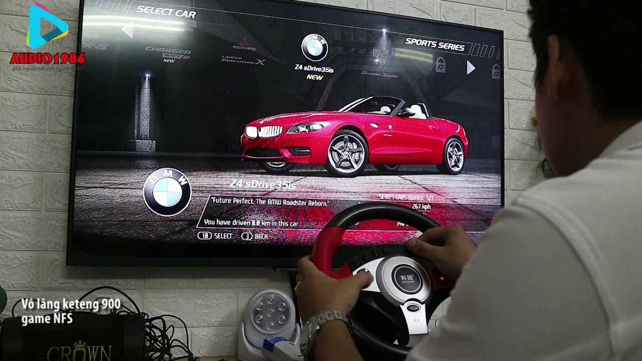 Test Vô Lăng Keteng 900 chơi game Need for Speed Hot Pursuit một game thể thao đua xe