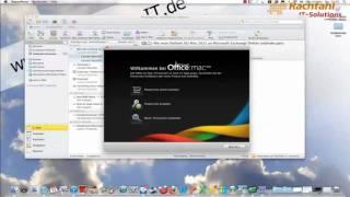 Wie man Outlook für Mac 2011 an Microsoft Exchange Online anbindet