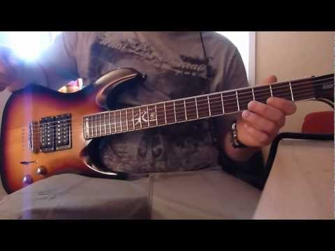 Deftones - My Own Summer Shove It (Guitar Cover)