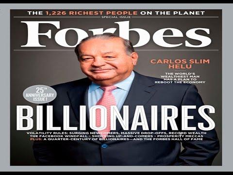Los hombres mas ricos del mundo 2015 forbes