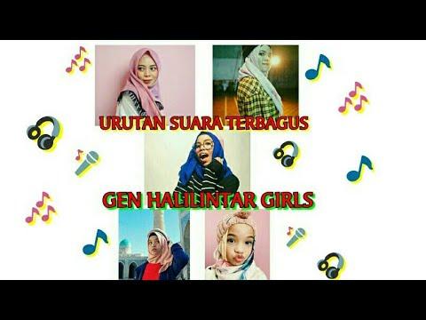 Urutan Suara Terbagus Gen Halilintar Girl Youtube