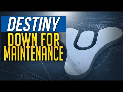 Destiny DOWN FOR MAINTENANCE September 25 FACTION UPDATE!