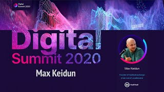 Digital Summit 2020 Day 1.2 Broadcast of the speech by Max Keidun Founder of Hodlhodl