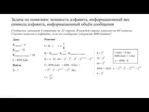 Как решить задачи по информатике