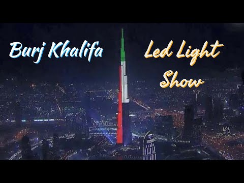 BURJ KHALIFA LED LIGHT SHOW 🎆 | Video Compilation | Dubai UAE