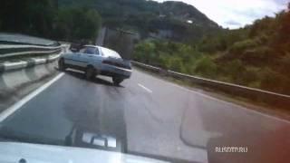 Авария на видеорегистратор в Сочи