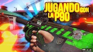 Gameplay en Zula con la P90   Bellisima Arma   iTz Malendario