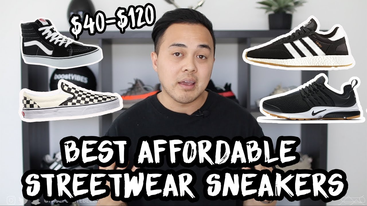 TOP 5 Affordable Streetwear Sneakers for Back to School - YouTube 92115e0c39e9