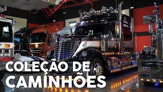 Colecionador Tem 8 Caminhões na Sala de Estar - Webmotors