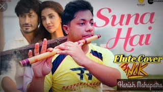 Suna Hai   Jubin Nautiyal   Flute Instrumental Cover   Sanak   Harish Mahapatra