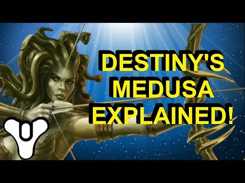 Medusa is NOT our enemy?! Destiny 2 Lore | Myelin Games