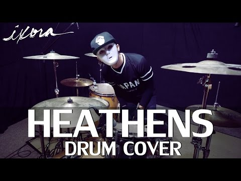 Heathens - Twenty One Pilots (Ost. Suicide Squad) - Drum Cover - Ixora (Wayan)