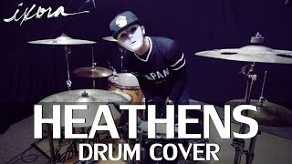 Heathens - Twenty One Pilots (Ost. Suicide Squad) - Drum Cover - Ixora (Wayan)