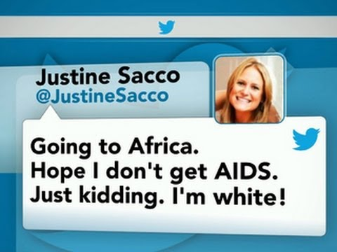 Former PR exec Justine Sacco apologizes for inappropriate tweet
