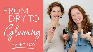 If you've got dry skin, especially if you're over 40 (YES both ladi...
