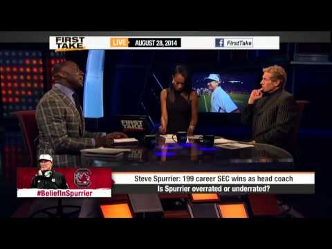 First Take - Steve Spurrier: Overrated or Underrated?