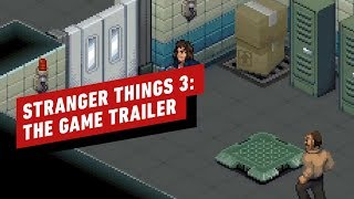 Stranger Things 3: The Game Switch Trailer - GDC 2019